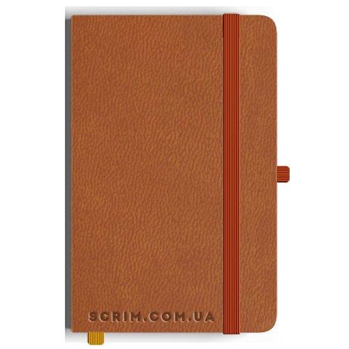 Блокноти Loretta А5 коричневі під замовлення