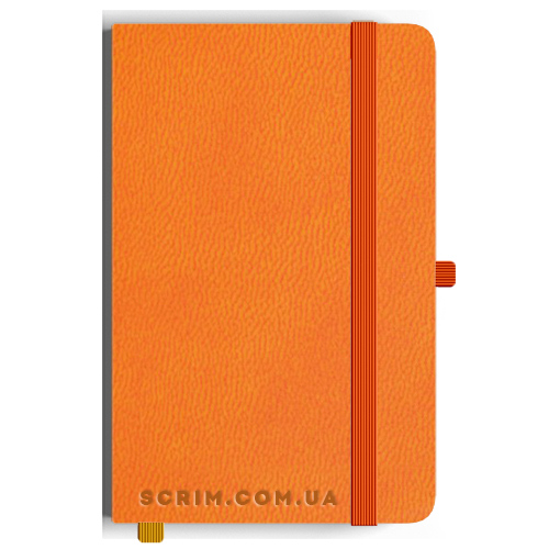 Блокноти Loretta А5 помаранчеві під замовлення