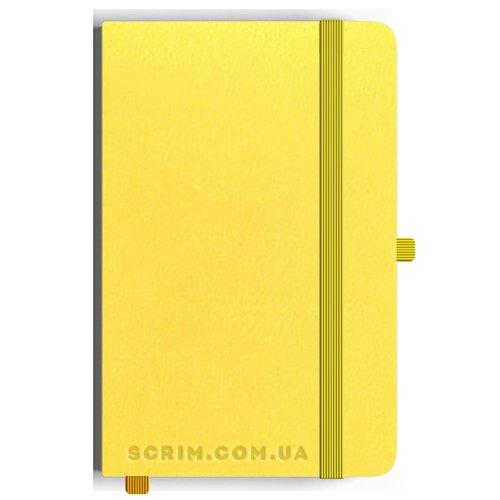 Блокноти Loretta А5 жовті під замовлення