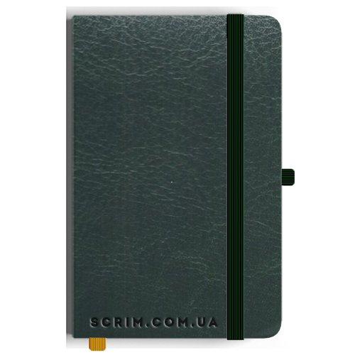 Блокноты Leona А5 зеленые под заказ
