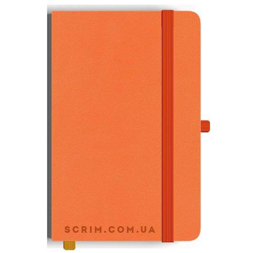 Блокноти A5 Viarolla помаранчеві під замовлення