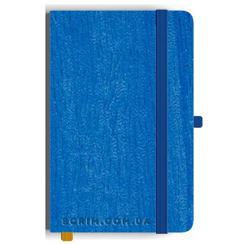 Блокноты A5 Alamo голубые под заказ