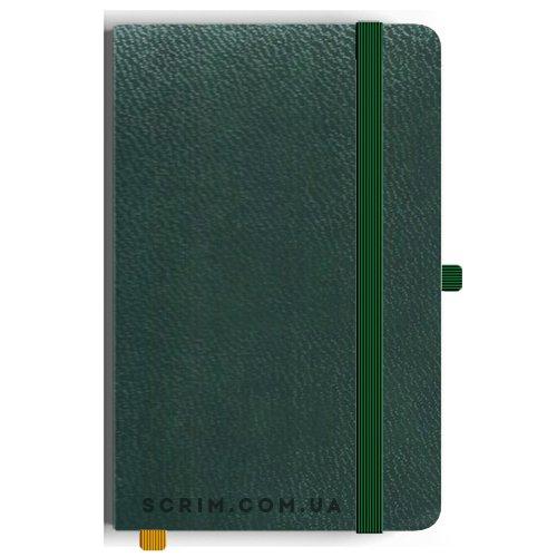 Блокноты A5 Constance зеленые под заказ