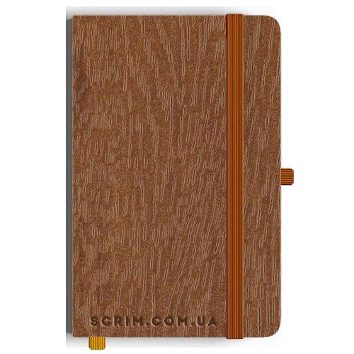Блокноты A5 Purso коричневые под заказ