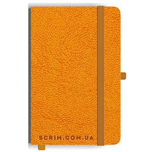 Блокноты A5 Sat оранжевые под заказ