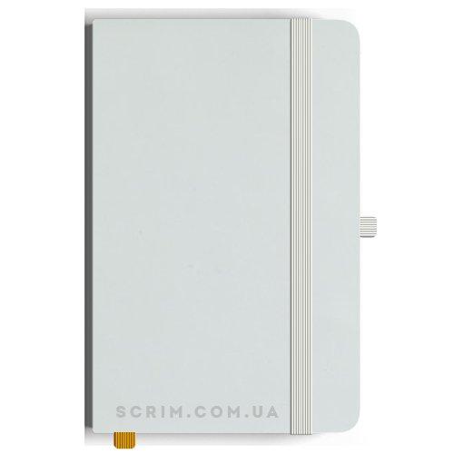 Блокноти A5 Soft-gum білі під замовлення