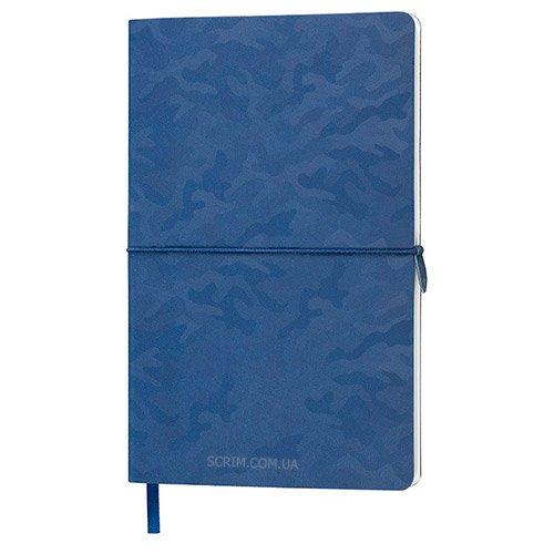 Блокноти темно-сині Tabby Franky з логотипом