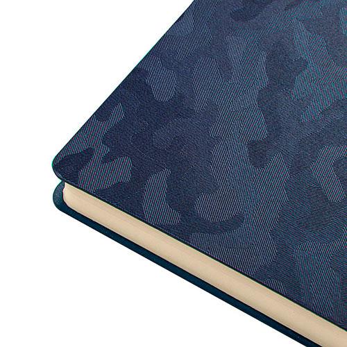 Блокноты темно-синие Tabby Franky уголок