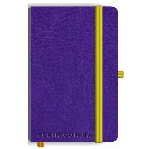 Блокноты A5 Vivian фиолетовые под заказ