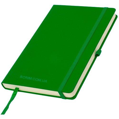 Блокноти зелені Silky з логотипом