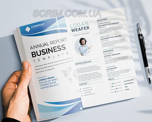 Друк брошур формату А5 на скобі або на пружині