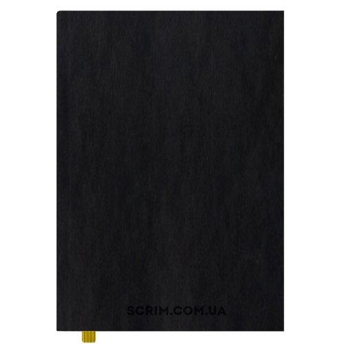 Щоденники А4 Vester чорні датований блок