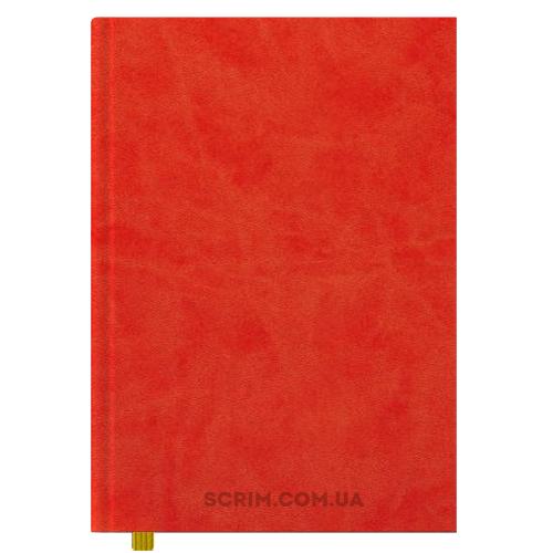 Ежедневники А4 Vester ярко-красные датированный блок