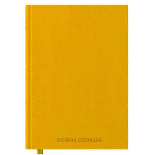 Щоденники А4 Vester жовті датований блок