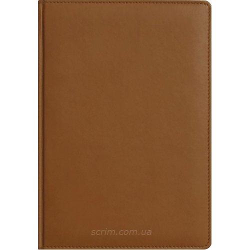 Ежедневники Fidelli коричневые с логотипом