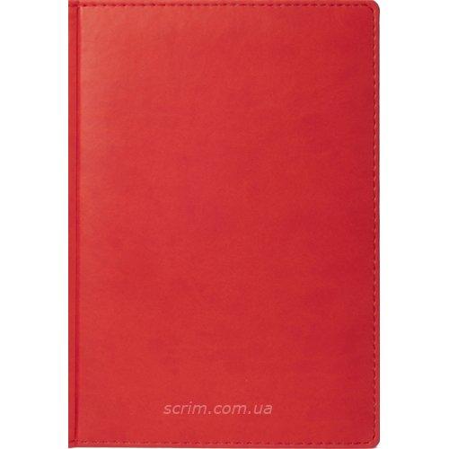 Ежедневники Fidelli красные с логотипом
