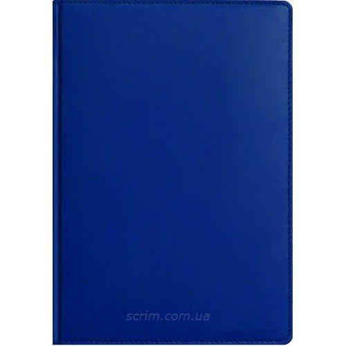 Ежедневники Fidelli синие с логотипом