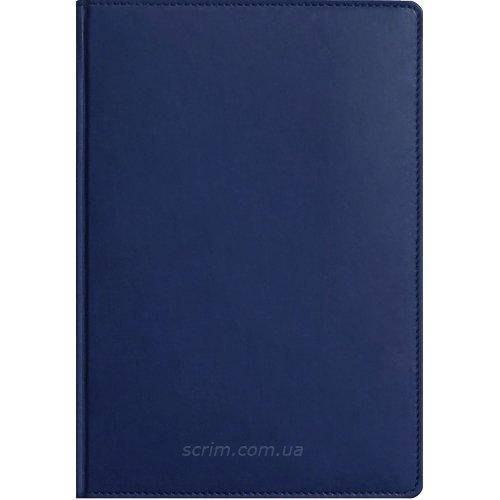 Щоденники Fidelli темно-сині з логотипом