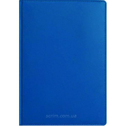 Ежедневники Fidelli ярко-синие с логотипом