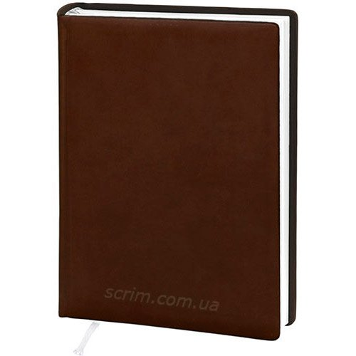 Ежедневники датированные Vivella коричневые с логотипом