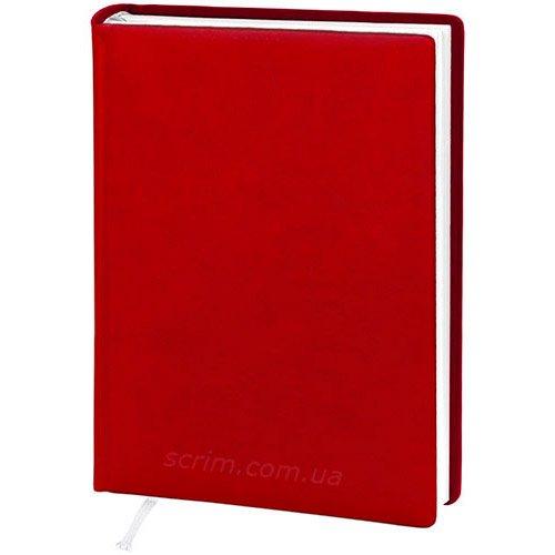Ежедневники датированные Vivella красные с логотипом