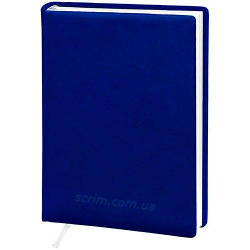 Щоденники датовані Vivella сині з логотипом