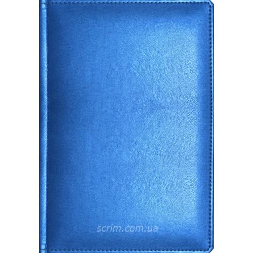 Щоденники датовані Albamo блакитні з логотипом