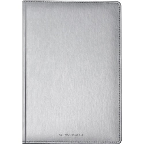 Щоденники датовані Albamo срібні з логотипом
