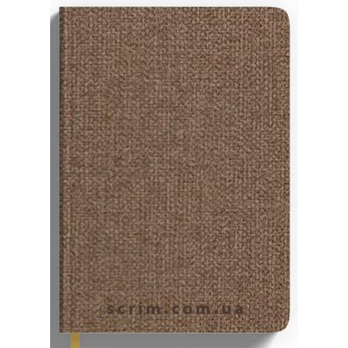 Ежедневники датированные Cambee св-коричневые с логотипом