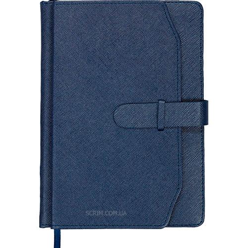 Ежедневники датированные Credit синие с логотипом