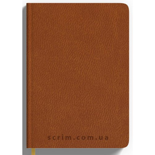 Ежедневники Lianna коричневые под заказ