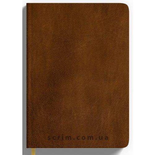 Ежедневники Lusiena коричневые на заказ