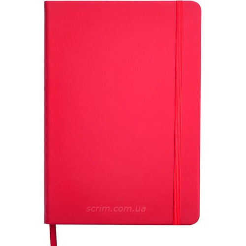 Ежедневники датированные Touch красные с логотипом