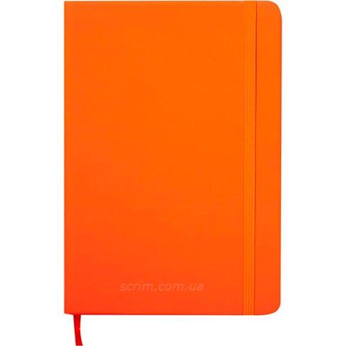 Ежедневники датированные Touch оранжевые с логотипом
