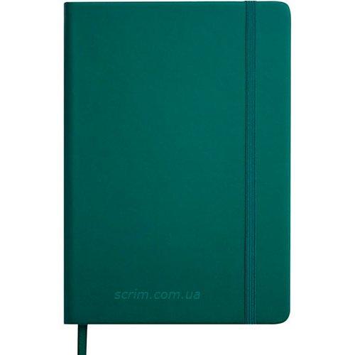 Щоденники датовані Touch зелені з логотипом