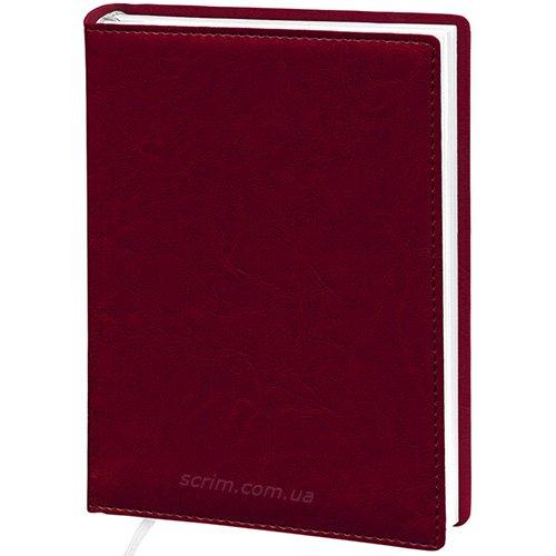 Ежедневники Elis бордовые с логотипом