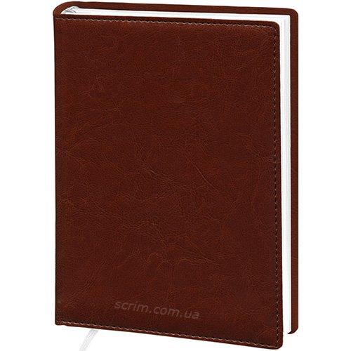 Щоденники Elis коричневі з логотипом