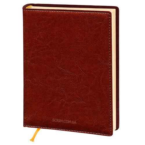 Щоденники Elissa коричневі з логотипом