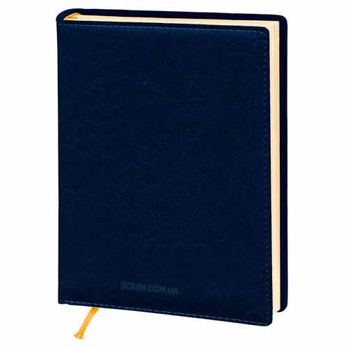 Щоденники Elissa темно-сині з логотипом