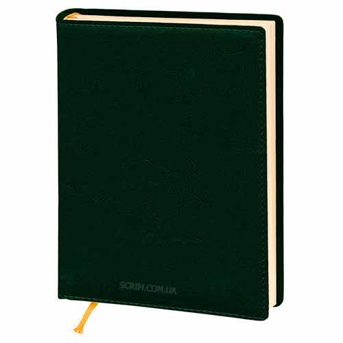 Ежедневники Elissa зеленые с логотипом