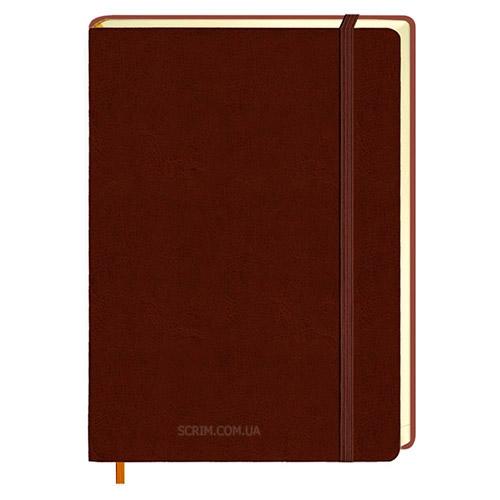 Ежедневники Erica коричневые с логотипом