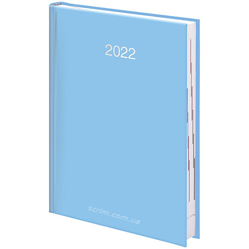 щоденники блакитні miradur trend фото 2 датовані