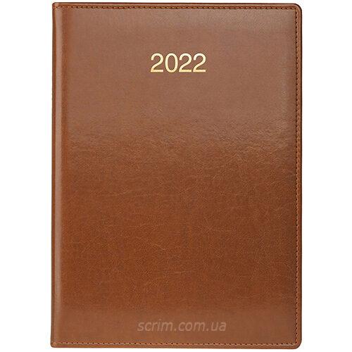 ежедневники коричневые датированные brunnen soft