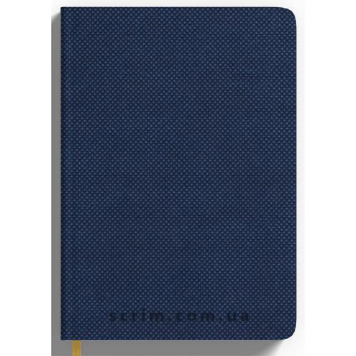 Щоденники Nadir темно-сині з логотипом