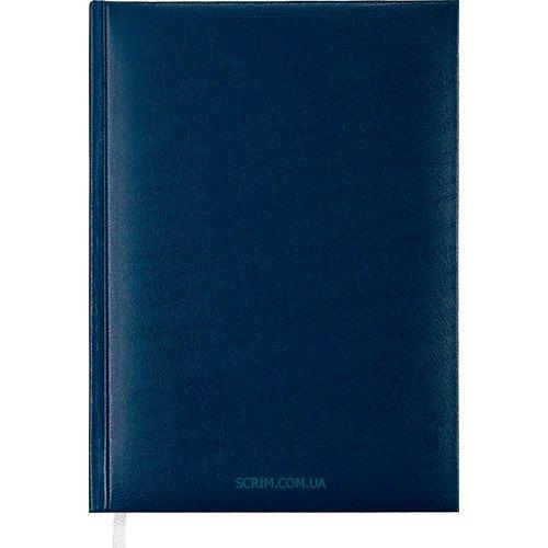 Щоденники недатовані Expert сині з логотипом