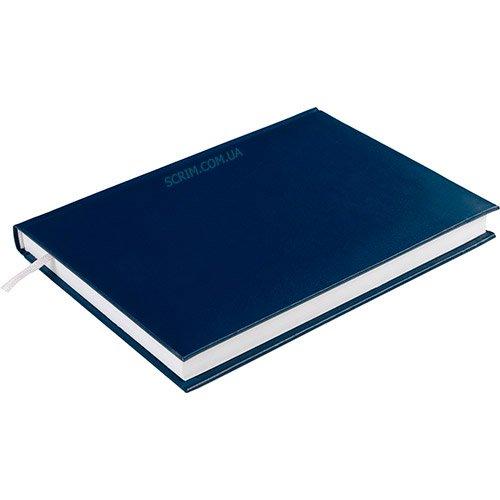 Щоденники недатовані Expert сині з логотипом 2