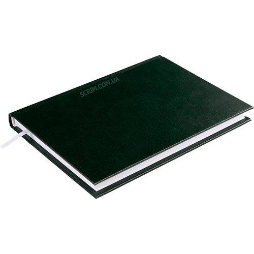 Ежедневники недатированные Expert зеленые с логотипом 2