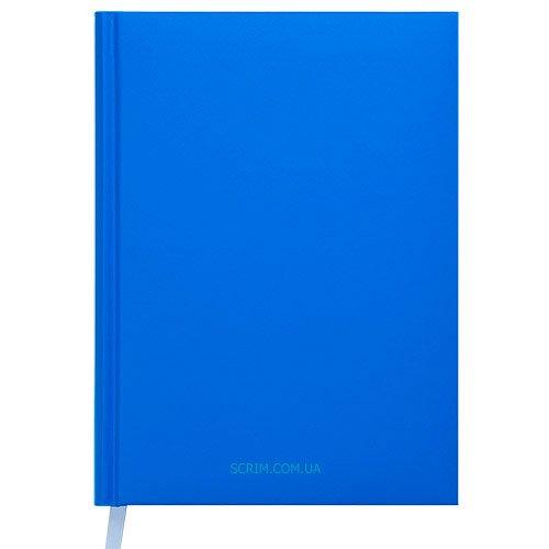 Ежедневники недатированные Memphis голубые с логотипом