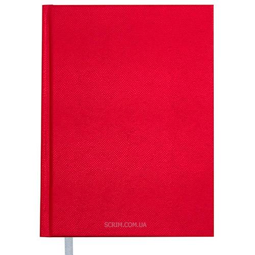 Щоденники А5 Perl червоні недатовані