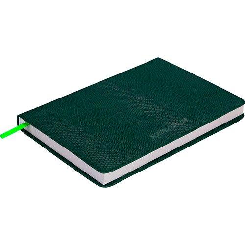 Ежедневники датированные Snake зеленые 2 с логотипом
